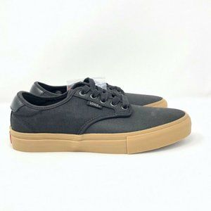 NEW Vans Chima Pro X-Tuff Black/Gum Shoes Sz 6.5